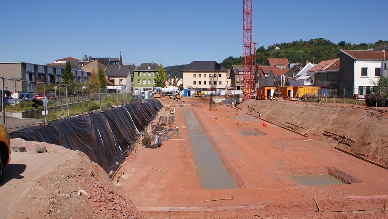 Baustelle Wohnpark Merzig
