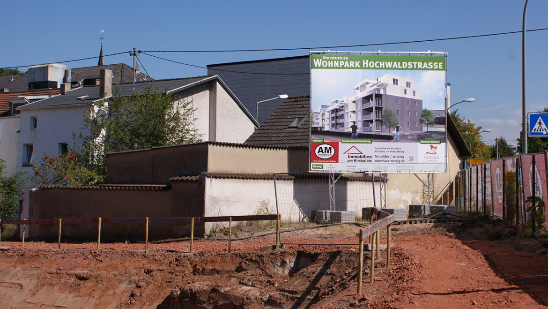 Baustelle Wohnpark Merzig (Am Gaswerk)