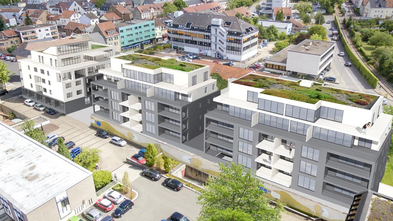 Wohnpark Hochwaldstraße Merzig (Draufsicht)