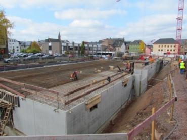 Baufortschritt Wohnpark Oktober 2016