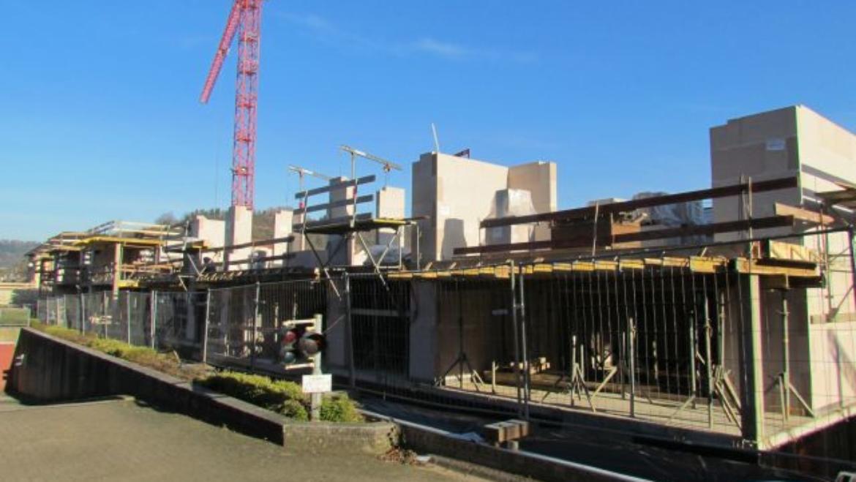 Baufortschritt Wohnpark November 2016