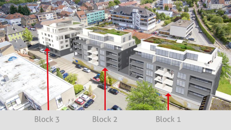 Aufteilung Wohnpark Merzig