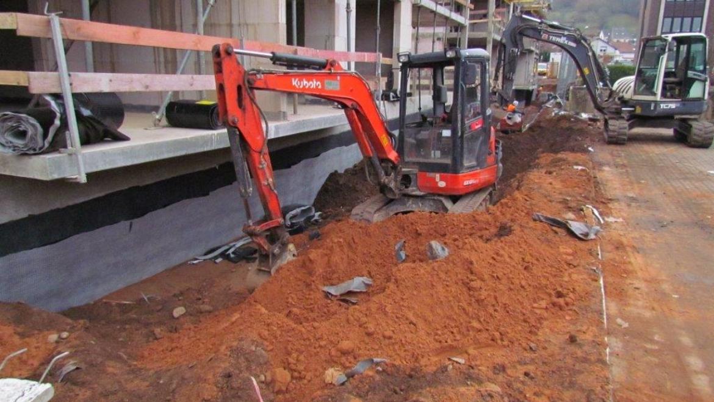 Baufortschritt Wohnpark Dezember 2016