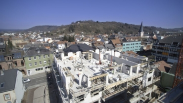 Baufortschritt im März 2017